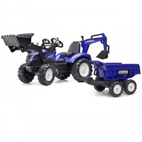 Трактор педальный Falk New Holland 3090W