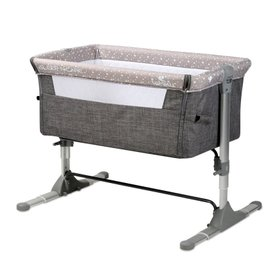 Кроватка Lorelli Sleep'n'Care grey elephant