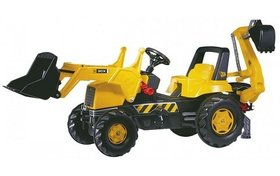 Экскаватор Rolly Toys rollyJunior JCB 812004
