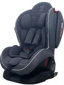Автокресло Bertoni Arthur Isofix (black leather)